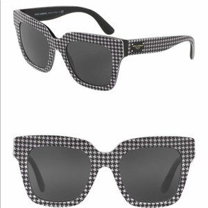 Dolce & Gabbana houndstooth Sunglasses 51/20/140